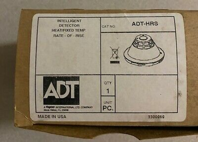 NEW TYCO ADT-HRS Intelligent Detector Heat / Fixed Temp  NEW IN BOX