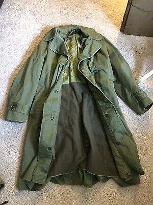 1950s Army Overcoat W/ Liner