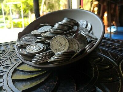 5 Five Troy Pound 90% Silver Quarters -  Large US Silver Coin Lot - BUY and HIDE