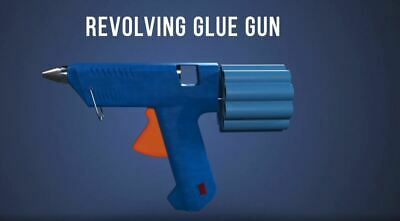 Patent For Sale - Hot Melt Glue Gun With 10 Chamber Revolving Cylinder
