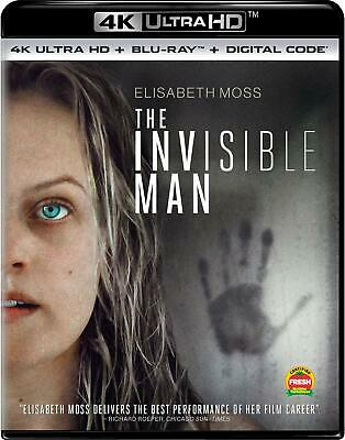 NEW The Invisible Man [4K Ultra HD + Blu-Ray + Digital] Pre-Order 5/26