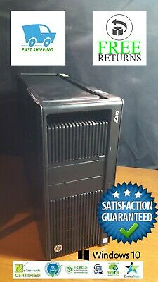 HP Z840 WORKSTATION DUAL-CPU (x2) XEON E5-2690V3 2.6GHz 256SSD 64GB WIN10 PRO