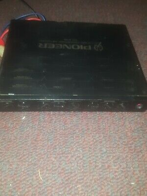 Vintage Old School Pioneer Electronic Crossover Network CD-630 *UNTESTED AS IS