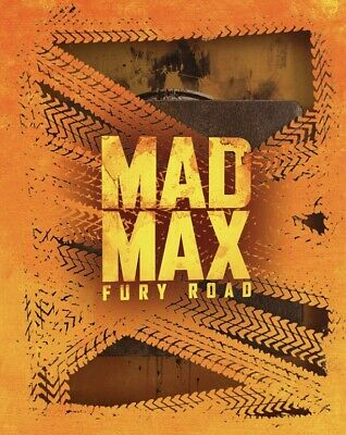 Mad Max: Fury Road Titans Of Cult Limited Edition 4K Steelbook JUNE RELEASE
