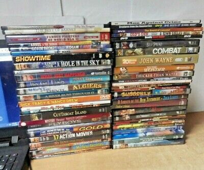 Dvd Movie Lot Of 54 Action Western Drama Tv Series Classics Present More #1