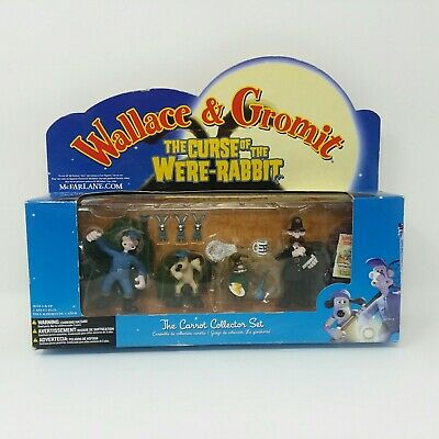 Wallace & Gromit - Curse of the Were-Rabbit The Carrot Collectors Figures