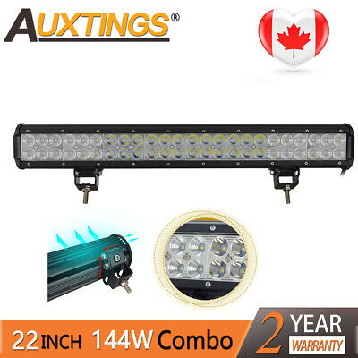 23inch 144w Led Work Light Bar Combo Spot Flood Offroad Lamp Truck SUV 4X4 CA