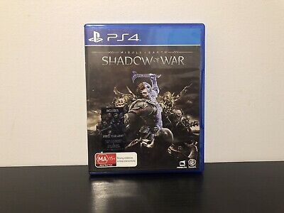 Middle Earth:Shadow of War (Sony PlayStation 4, 2017)