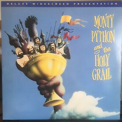 MONTY PYTHON & The HOLY GRAIL (1994) LASERDISC IN EXCELLENT CONDITION. NTSC