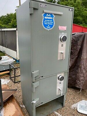AMSEC Double Electronic Store Industrial Business Floor Safe with Combinations