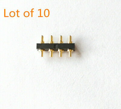 10x Everett Charles SPR-1W Probes SPA//HPA 9* d=1.5mm Spring Loaded Pogo Pin Jtag