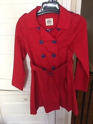Mini boden Girls 11-12 Spring Jacket Red