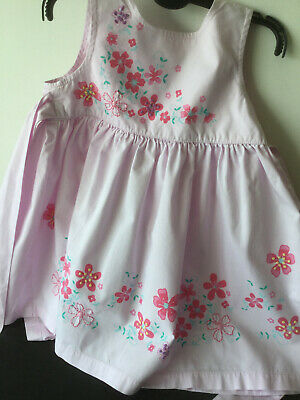 Next, Marks and Spencer, Ivory Tiered Cotton Dresses, Denim Jeans 12-18 months