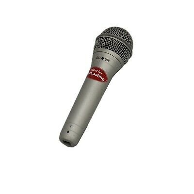 Samson Q1U dynamic USB microphone ideal for podcasting - tested & warranty