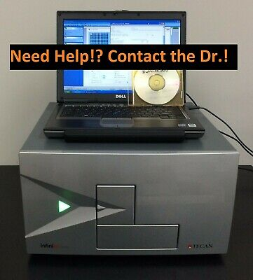 Tecan Microplate Reader stressing you out? Contact the Dr. Support & Training