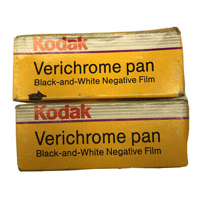 2 Rolls Kodak 120 Verichrome Pan Black & White PRINT FILM Expired