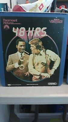CED VideoDisc 48 Hours (1982) Paramount Home Video