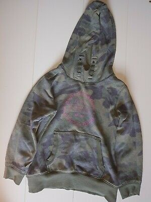 Next Girls Hoodie Khaki Jumper Age 9 yrs