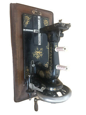 Rare High Arm Model B PFAFF Vintage Antique Hand Sewing Machine (60/80)