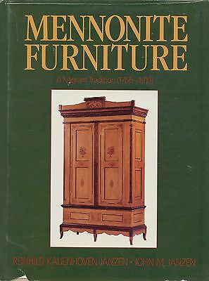 Antique Mennonite Furniture 1766-1910 - Types Makers Dates / Scarce Book