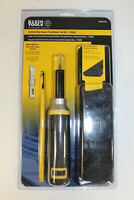 New Klein Tools VDV427-822 Impact Punchdown Kit. Free Shipping!