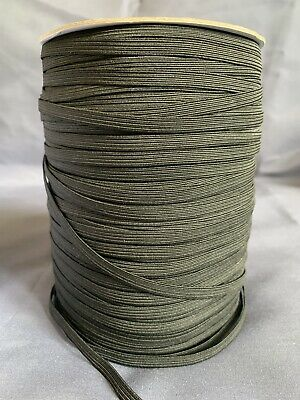 Black Elastic - 6mm - 5 meters - 1/4 Inch - Ideal For Face Masks - Free Postage