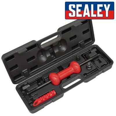 Sealey Slide Hammer Kit Carry Case Hooks Adaptor Screws Dent Panel Puller 9pc