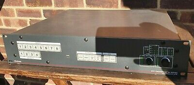 Extron DTP hdmi CrossPoint 84 8x4 Scaling Presentation Matrix Switcher