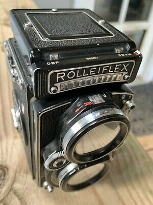 Rolleiflex 2.8 E - Model 3 TLR with 80mm Planar