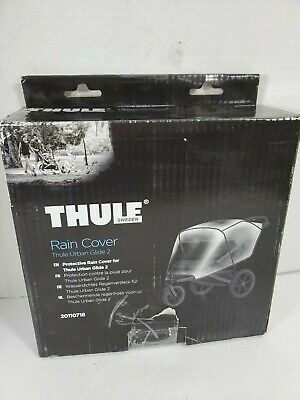 Thule Urban Glide 2 Protective Rain Cover Clear New, Opened Box - For Double