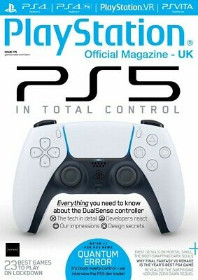 Playstation Official Magazine Uk May 2020 Issue 175