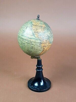 Antico Mappamondo - Globe Terrestre J.forest - Antique Globe