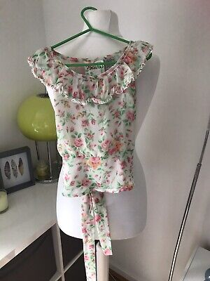 Catimini Girls Jeans Age 4 & Guess Flora Blouse Age 3