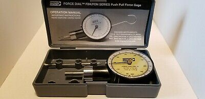 Wagner Instruments Force Dial FDK 32 Push-Pull Gauge