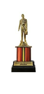 The Office Dunder Mifflin - Dundie Show Me The Money Award Trophy – NEW!