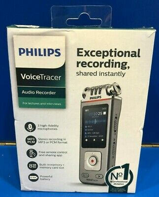 Brand New - Philips Voice Tracer Audio Recorder DVT4110