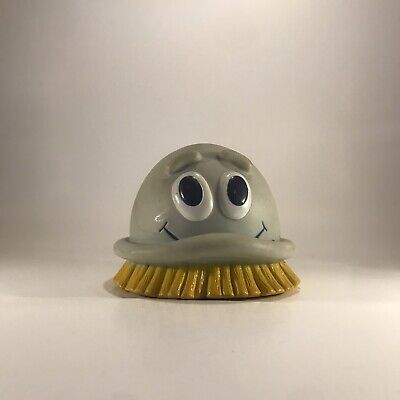 Dow Scrubbing Bubble Bubbles Vinyl Advertising Ad Figure Mascot 1990 Vtg