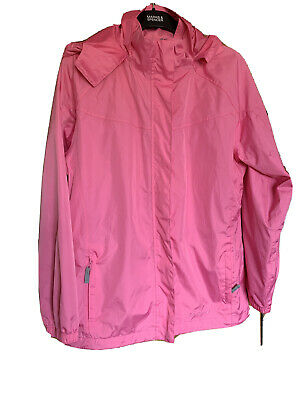 Waterproof PETER STORM Jacket age 13 Pink Great Condition