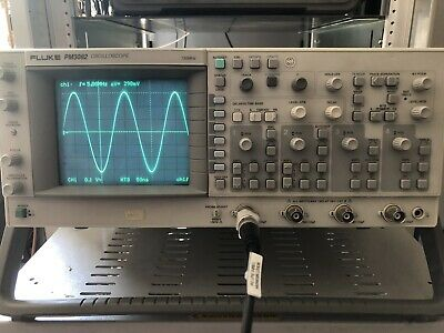 Fluke PM3082 Oscilloscope 100MHz 4 Channels with Calibration if requested