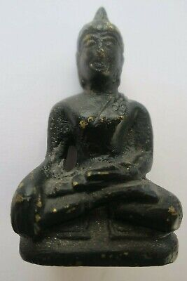 Old Buddha Ornament Brass/Bronze?