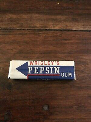 Vintage NOS 1935 NRA Wrigley's PEPSIN GUM PACK, INCREDIBLY RARE, MINT