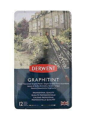 Derwent Graphitint Tinted 12 Pack Pencils