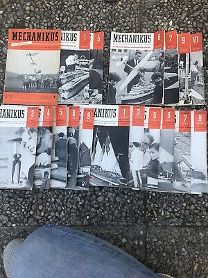 MECHANIKUS-Magazin-1957, 1961, 1962, 1963, 1964