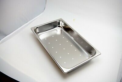 """Perforated Medical Instrument Sterilization Tray 16 1/2"""" x 10"""" x 2 1/2"""""""