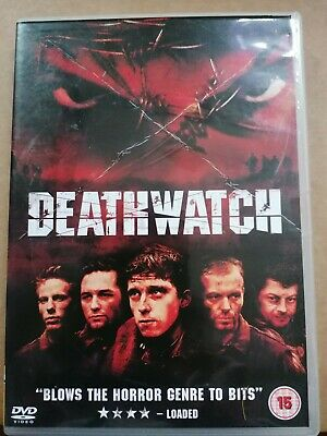 """Deathwatch DVD """"blows the horror genre to bits"""""""