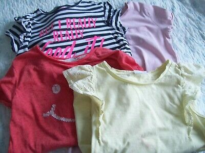 4 girls summer tops age 11 Matalan and Canadian brand