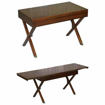 Stunning Restored Rosewood Extending Writing Table Desk Lovely Vintage Feel