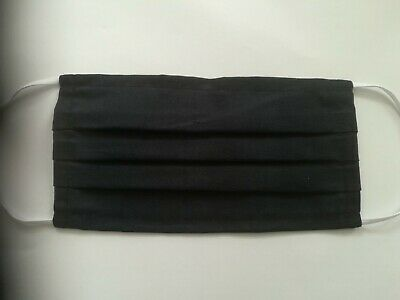 New Face Mask Cotton Washable Cover Mouth Nose Reusable Black Unisex Universal