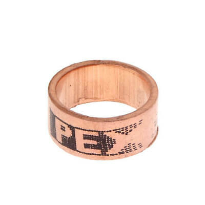 """(100) 1/2"""" PEX Copper Crimp Rings by Sioux Chief , Made in USA, 649X2 Lead free"""