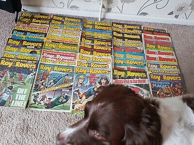 50 issues of ROY OF THE ROVERS: Feb '88 > Feb '89 - Almost a full year